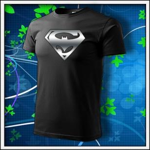 Super Batman - unisex s reflexnou potlačou