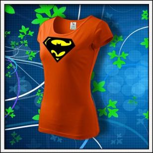 Super Batman - dámske oranžové