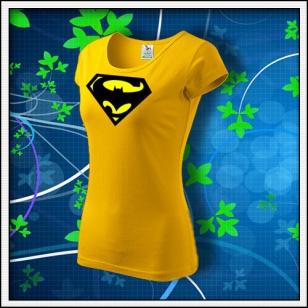Super Batman - dámske žlté