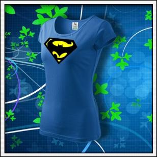 Super Batman - dámske svetlomodré