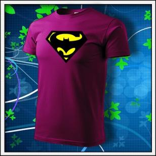 Super Batman - fuchsia red