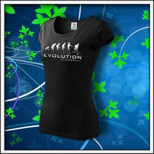 Evolution Floorball - dámske tričko reflexná potlač
