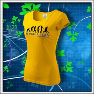 Evolution Floorball - dámske žlté