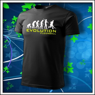 Evolution Floorball - čierne