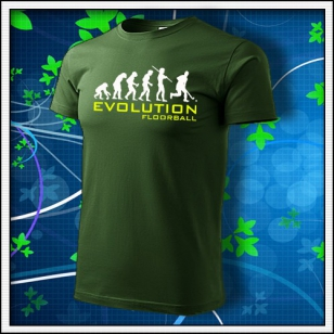 Evolution Floorball - fľaškovozelené