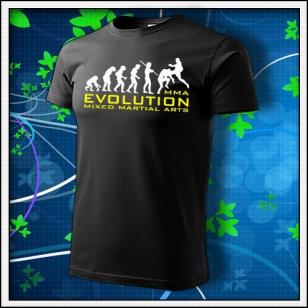 Evolution MMA - čierne
