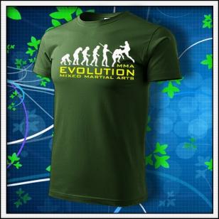 Evolution MMA - fľaškovozelené