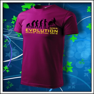 Evolution MMA - fuchsia red