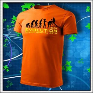 Evolution MMA - oranžové