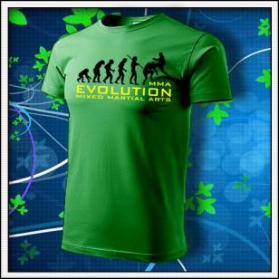 Evolution MMA - trávovozelené