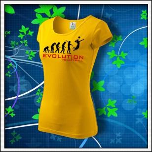 Evolution Volleyball - dámske žlté