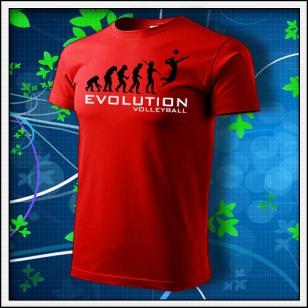 Evolution Volleyball - červené