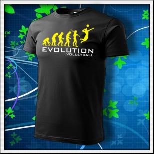 Evolution Volleyball - čierne
