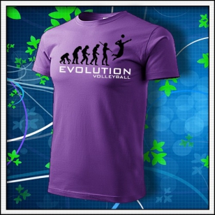 Evolution Volleyball - fialové