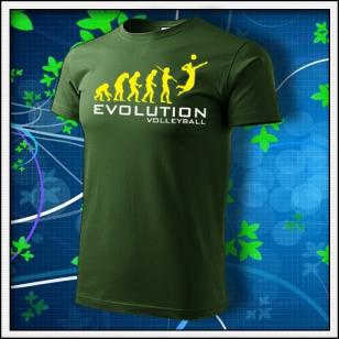 Evolution Volleyball - fľaškovozelené