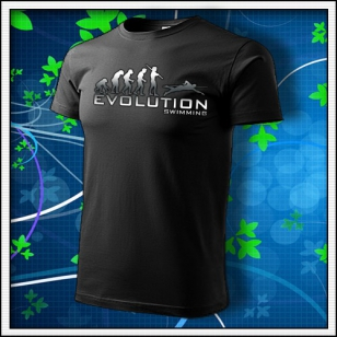 Evolution Swimming - unisex tričko reflexná potlač
