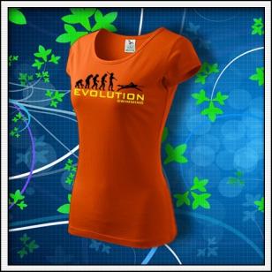 Evolution Swimming - dámske oranžové
