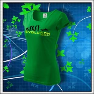 Evolution Swimming - dámske trávovozelené