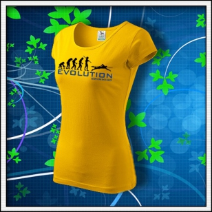 Evolution Swimming - dámske žlté
