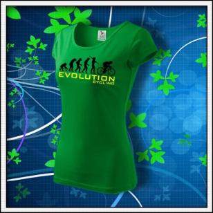 Evolution Cycling - dámske trávovozelené