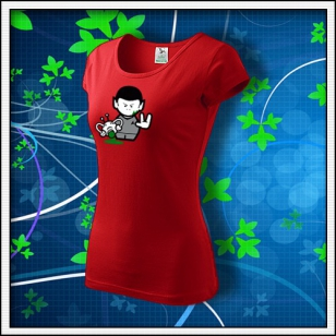 Spock - dámske červené