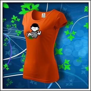 Spock - dámske oranžové