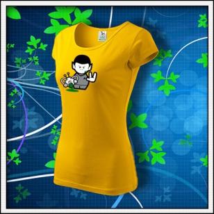 Spock - dámske žlté