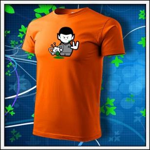 Spock - oranžové