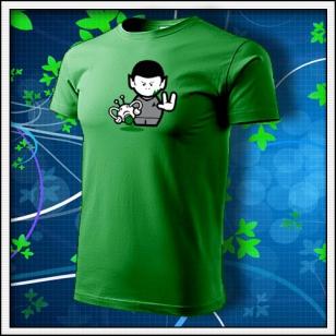 Spock - trávovozelené