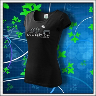 Le Parkour - dámske tričko reflexná potlač