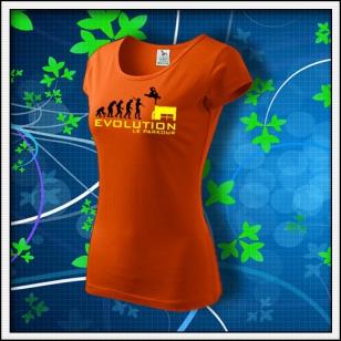 Evolution Le Parkour - dámske oranžové