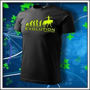Evolution Vaulting - unisex so žltou neónovou potlačou