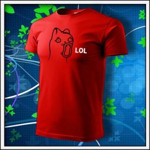 Meme Cat Lol - červené