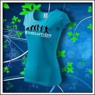 Evolution Baseball - dámske tyrkysové