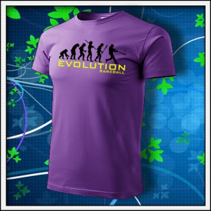 Evolution Baseball - fialové