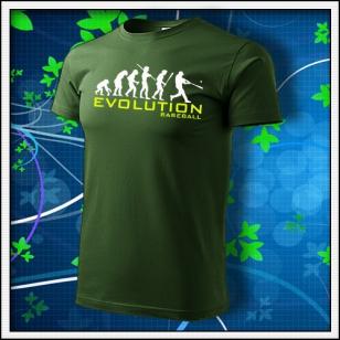 Evolution Baseball - fľaškovozelené