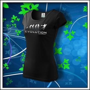 Evolution Handball - dámske tričko reflexná potlač