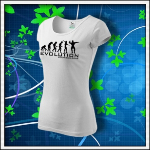 Evolution Bodybuilding - dámske biele
