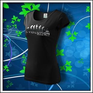 Evolution Water Polo - dámske tričko reflexná potlač