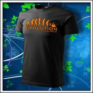 Evolution Water Polo - unisex s oranžovou neónovou potlačou