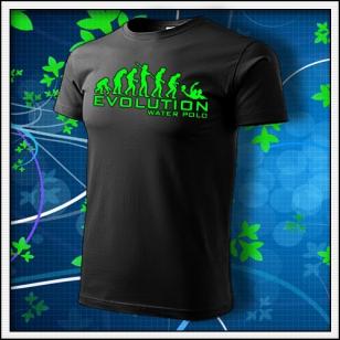 Evolution Water Polo - unisex so zelenou neónovou potlačou