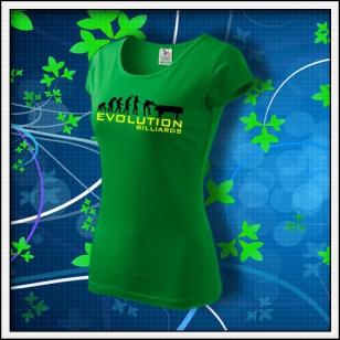 Evolution Billiards - dámske trávovozelené