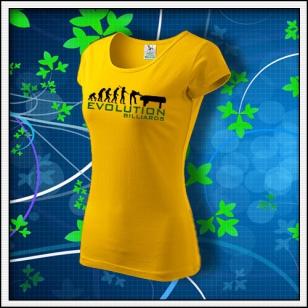Evolution Billiards - dámske žlté