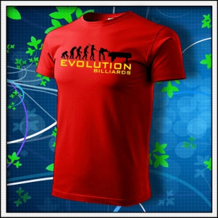 Evolution Billiards - červené