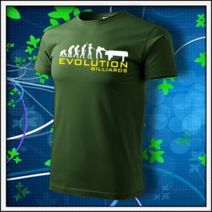 Evolution Billiards - fľaškovozelené
