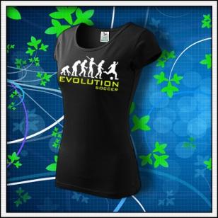 Evolution Soccer - dámske čierne