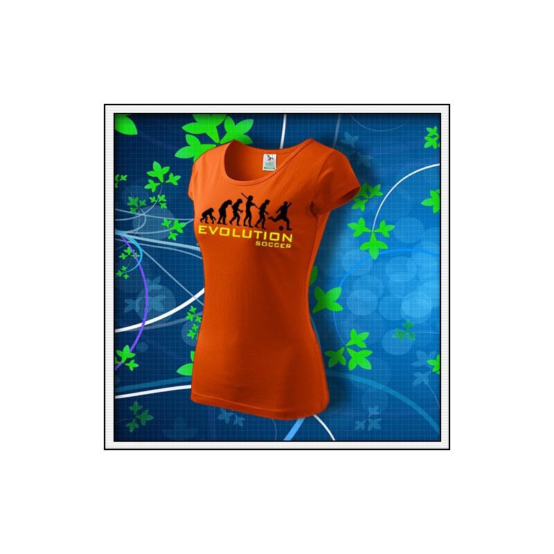 Evolution Soccer - dámske oranžové