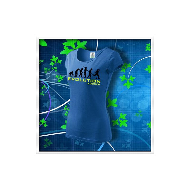 Evolution Soccer - dámske svetlomodré