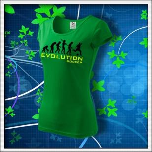 Evolution Soccer - dámske trávovozelené