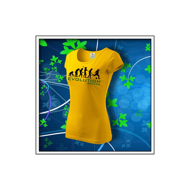 Evolution Soccer - dámske žlté
